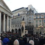 CoL Remembrance Parade 2019 at the Royal Exchange